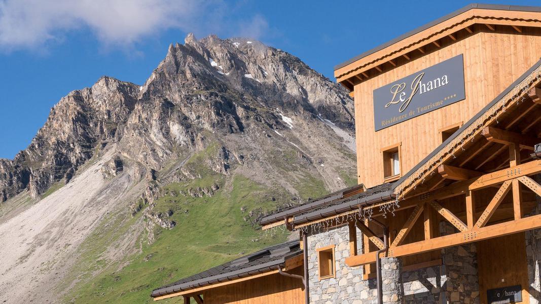 Location au ski Résidence le Jhana - Tignes - Extérieur été
