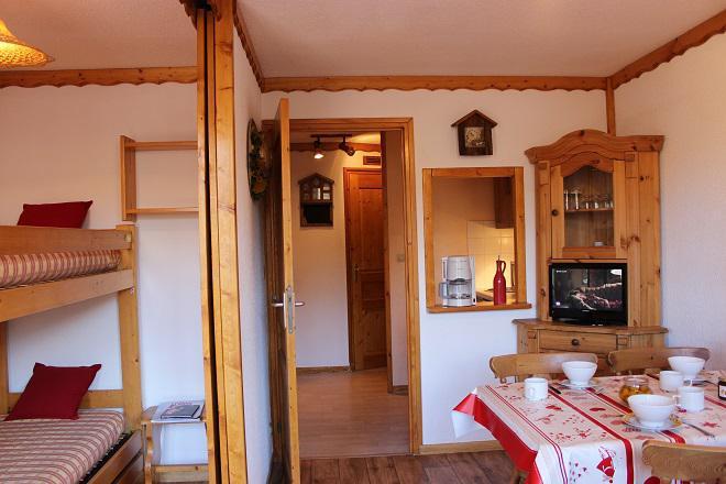 Vacances en montagne Appartement 2 pièces 4 personnes (B9) - Résidence le Joker - Val Thorens