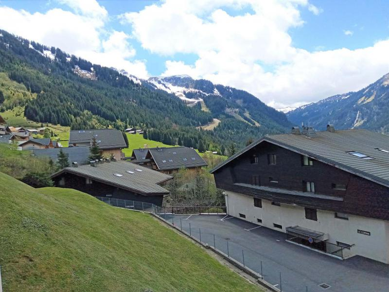 Vacances en montagne Appartement 2 pièces 4 personnes (JR9) - Résidence le Joran - Châtel - Extérieur été