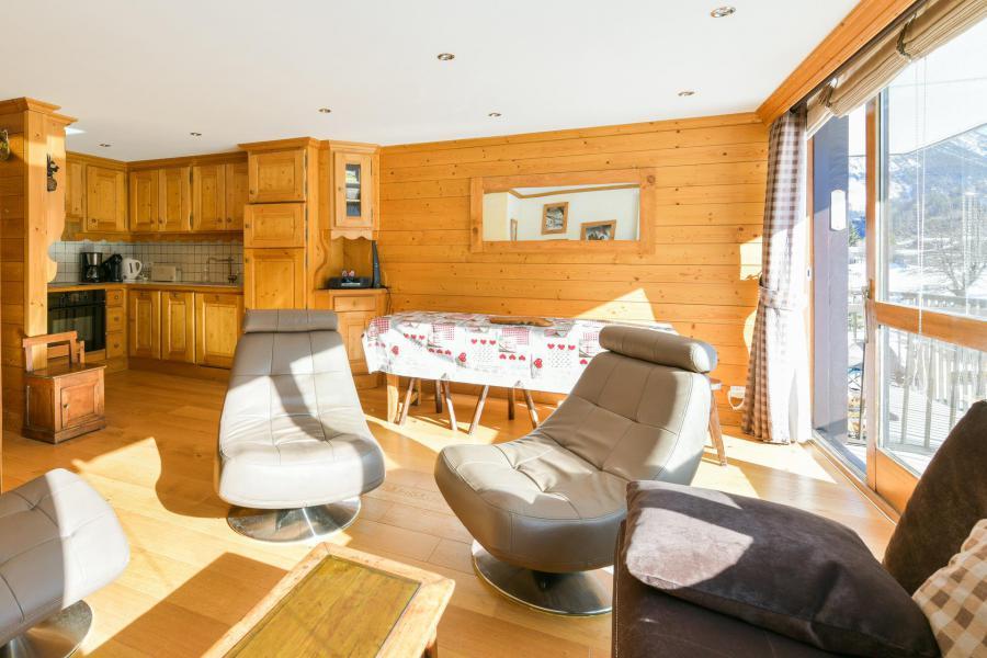 Wakacje w górach Apartament 3 pokojowy 6 osób (35) - Résidence le Lac - Courchevel - Pokój gościnny