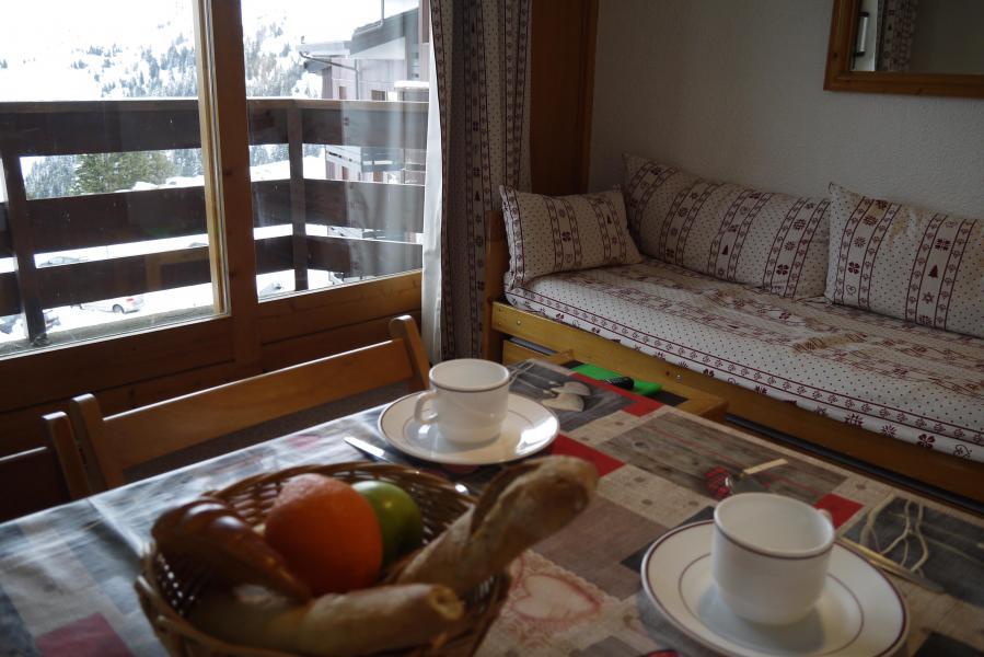Vacances en montagne Studio 4 personnes (E01) - Résidence le Lac Blanc - Méribel-Mottaret - Logement
