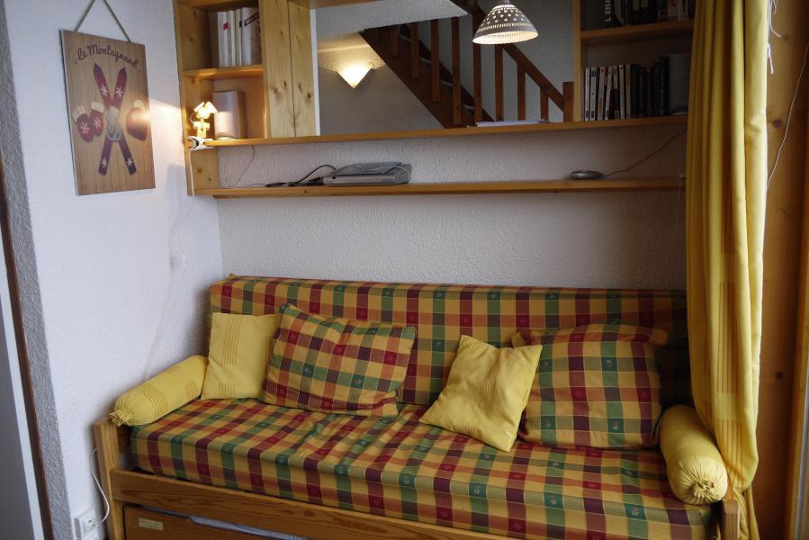 Vacances en montagne Studio mezzanine 4 personnes (F07) - Résidence le Lac Blanc - Méribel-Mottaret - Canapé-lit