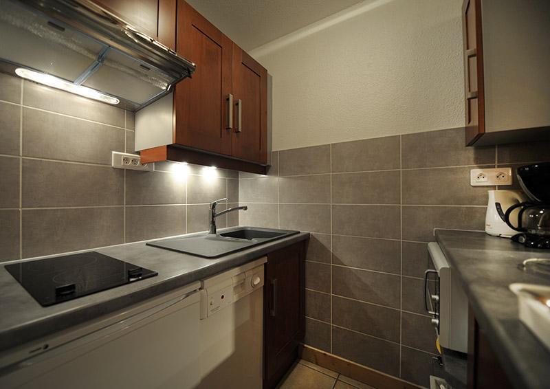 Vakantie in de bergen Appartement 2 kamers 5 personen (LC0112) - Résidence le Lac du Lou - Les Menuires
