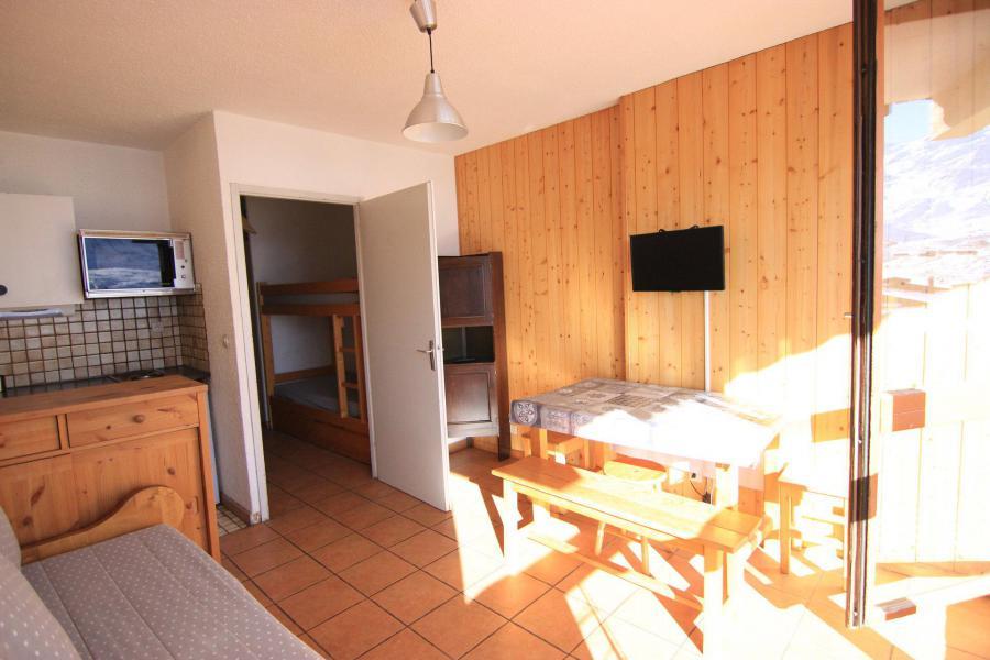 Vacances en montagne Studio 4 personnes (503) - Résidence le Lac du Lou - Val Thorens
