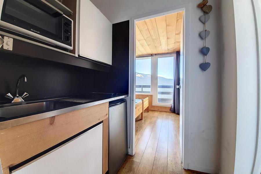 Vakantie in de bergen Appartement 2 kamers 4 personen (338) - Résidence le Lac du Lou - Les Menuires