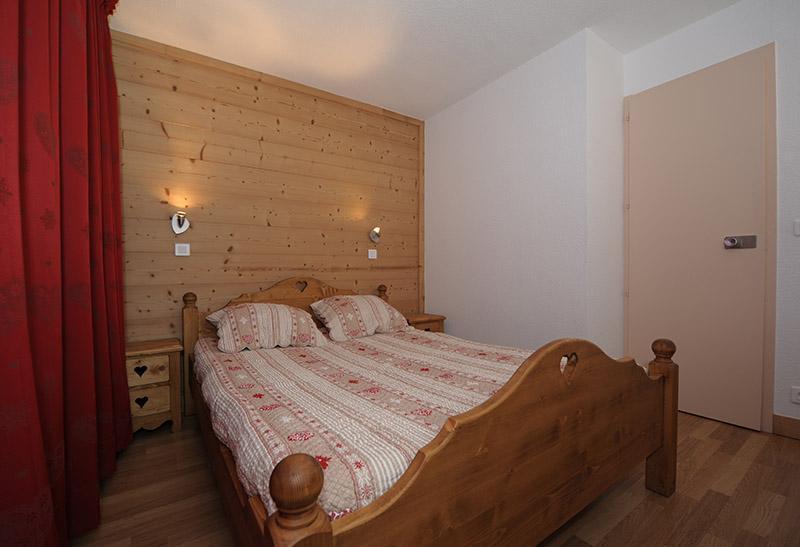 Vakantie in de bergen Appartement 2 kamers 5 personen (LC0112) - Résidence le Lac du Lou - Les Menuires - 2 persoons bed