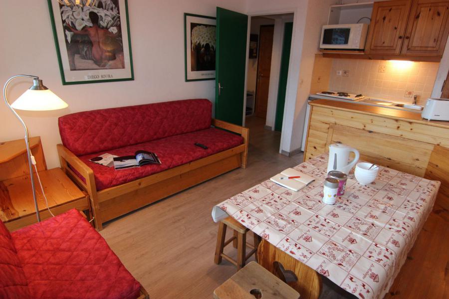 Vacances en montagne Appartement 2 pièces 4 personnes (404) - Résidence le Lac du Lou - Val Thorens - Séjour