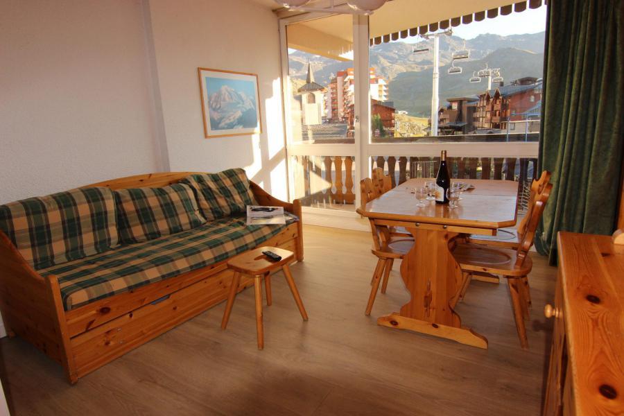 Vacances en montagne Studio 4 personnes (110) - Résidence le Lac du Lou - Val Thorens - Séjour