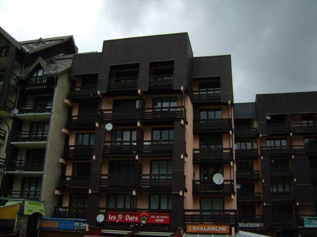 Location au ski Studio coin montagne 4 personnes (883) - Residence Le Laus - Risoul - Extérieur été