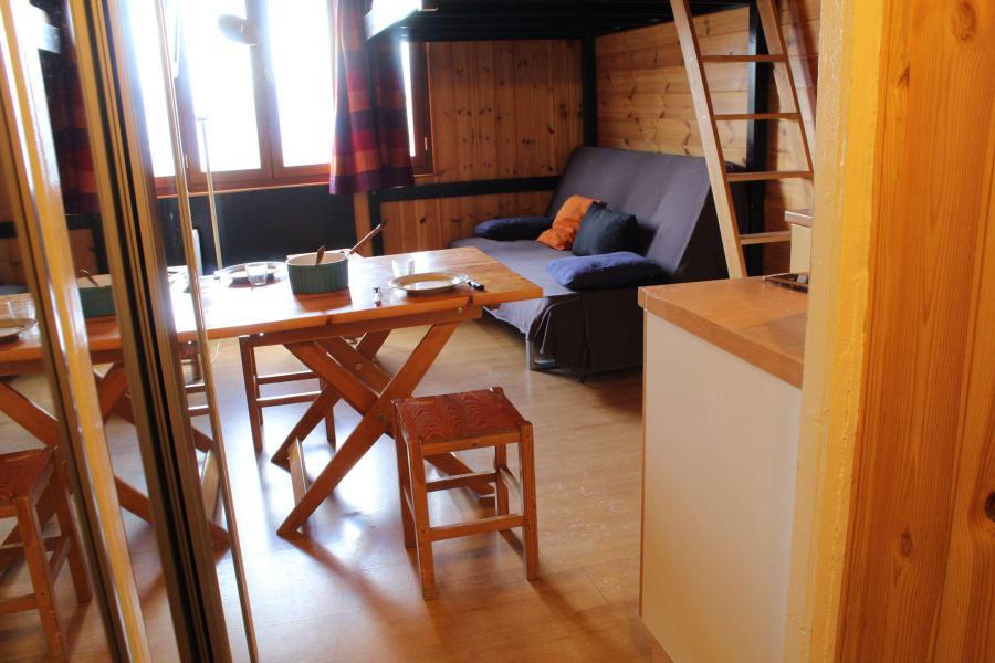 Vacaciones en montaña Estudio para 2 personas (111) - Résidence le Laus - Risoul - Sofá-cama