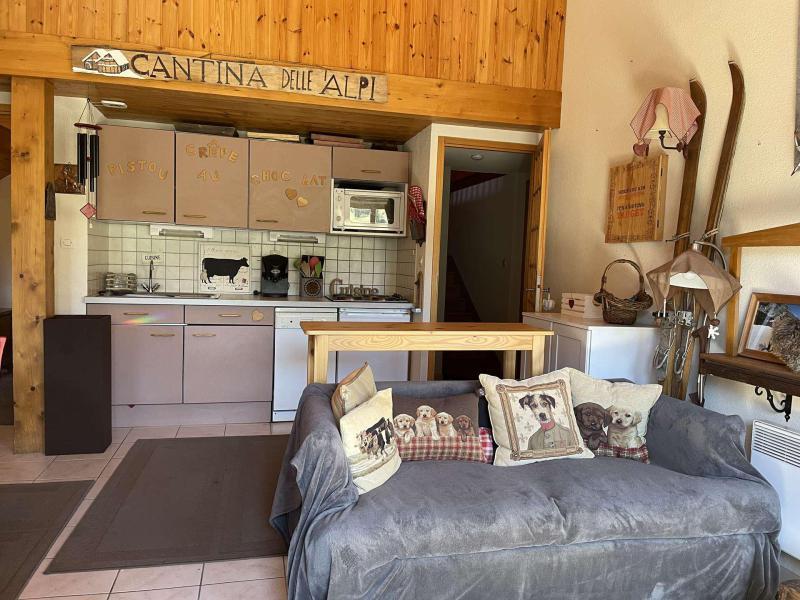 Wakacje w górach Apartament duplex 3 pokojowy 6 osób (LAUGAR) - Résidence le Lauzin - Montgenèvre