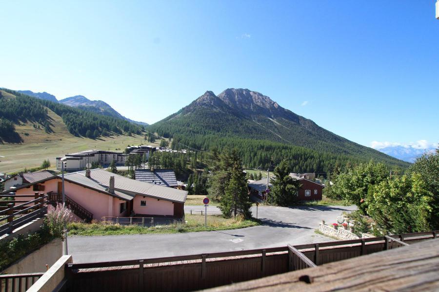Wakacje w górach Apartament duplex 2 pokojowy 4 osób (LAUROE) - Résidence le Lauzin - Montgenèvre - Na zewnątrz latem