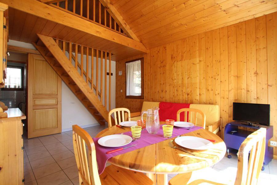 Wakacje w górach Apartament duplex 2 pokojowy 4 osób (LAUROE) - Résidence le Lauzin - Montgenèvre - Jadalnia
