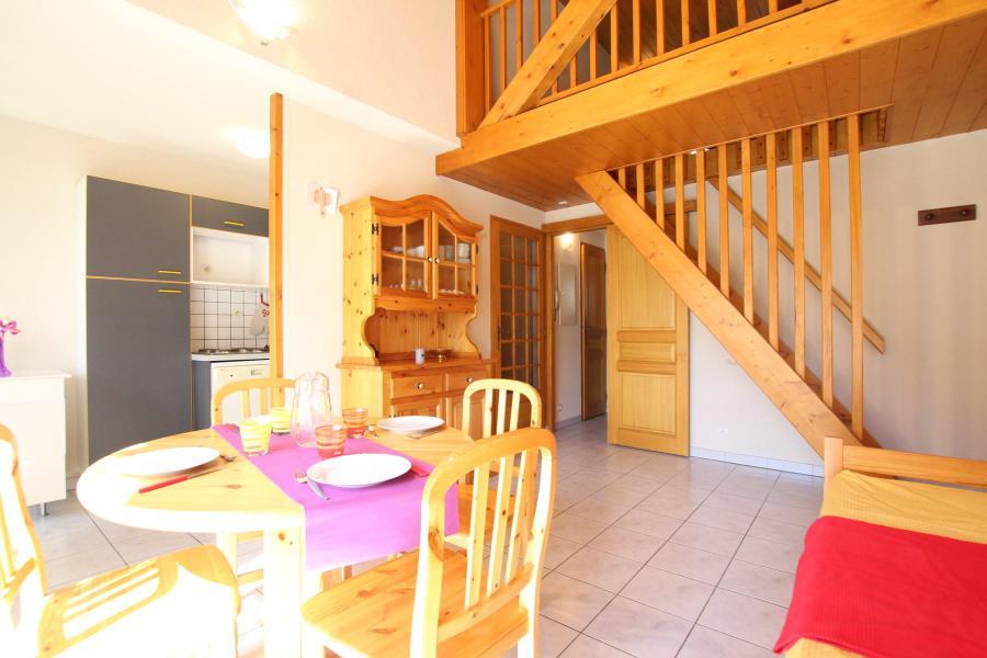 Wakacje w górach Apartament duplex 2 pokojowy 4 osób (LAUROE) - Résidence le Lauzin - Montgenèvre - Pokój gościnny