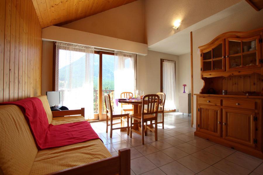 Wakacje w górach Apartament duplex 2 pokojowy 4 osób (LAUROE) - Résidence le Lauzin - Montgenèvre - Rozkładaną sofą