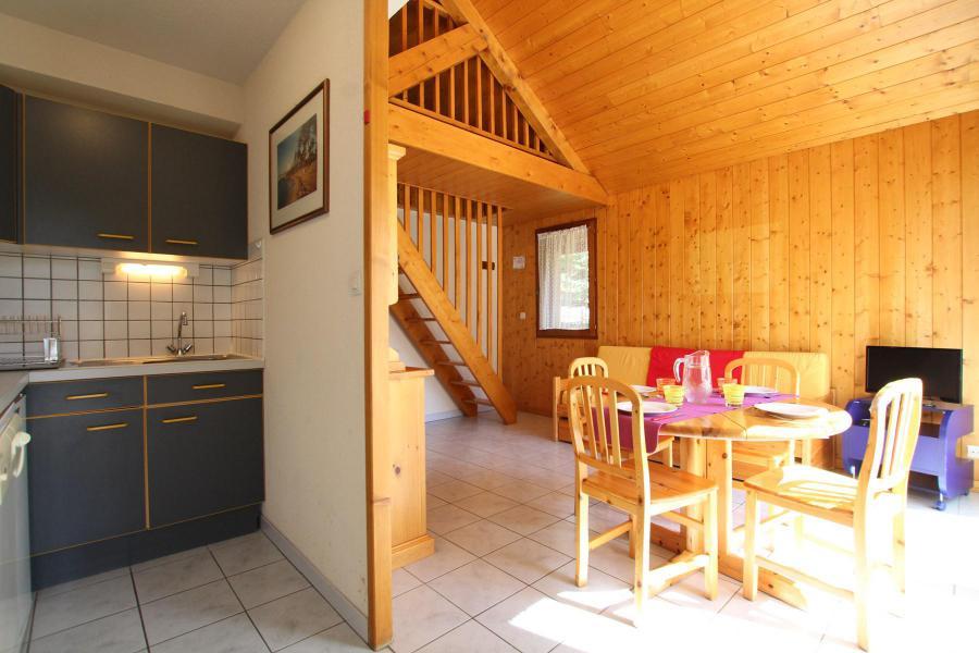Wakacje w górach Apartament duplex 2 pokojowy 4 osób (LAUROE) - Résidence le Lauzin - Montgenèvre - Salon