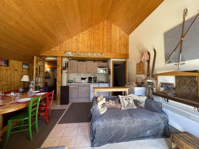 Wakacje w górach Apartament duplex 3 pokojowy 6 osób (LAUGAR) - Résidence le Lauzin - Montgenèvre - Antresola
