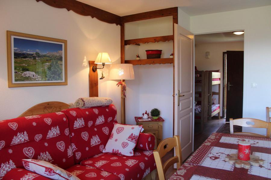 Vacaciones en montaña Apartamento cabina 2 piezas para 6 personas (713) - Résidence le Lièvre Blanc la Crête du Berger - La Joue du Loup