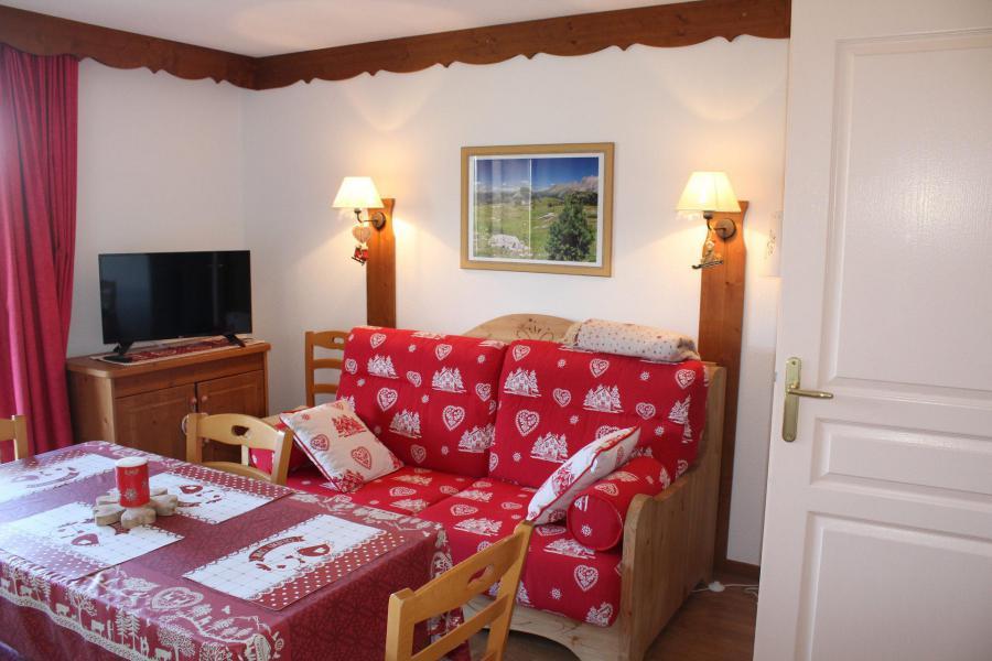 Vacaciones en montaña Apartamento cabina 2 piezas para 6 personas (713) - Résidence le Lièvre Blanc la Crête du Berger - La Joue du Loup - Alojamiento