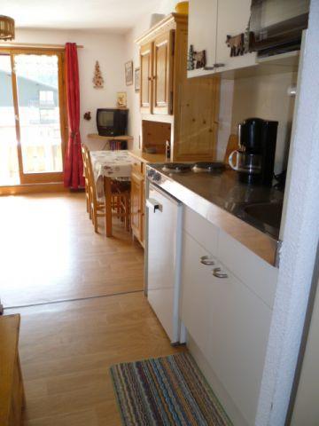 Vacaciones en montaña Apartamento 2 piezas para 4 personas (202) - Résidence le Linga - Châtel - Cabina