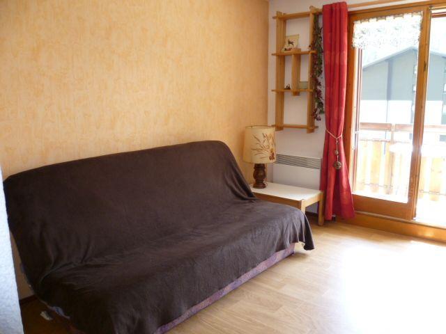 Vacaciones en montaña Apartamento 2 piezas para 4 personas (202) - Résidence le Linga - Châtel - Sofá