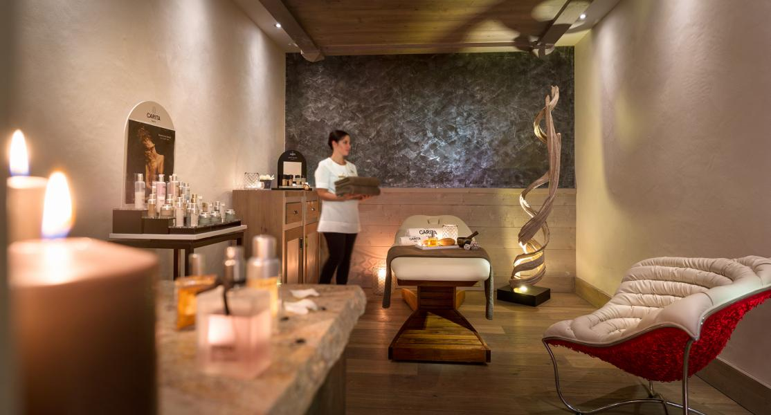 Vacances en montagne Résidence le Lodge Hemera - La Rosière - Massage