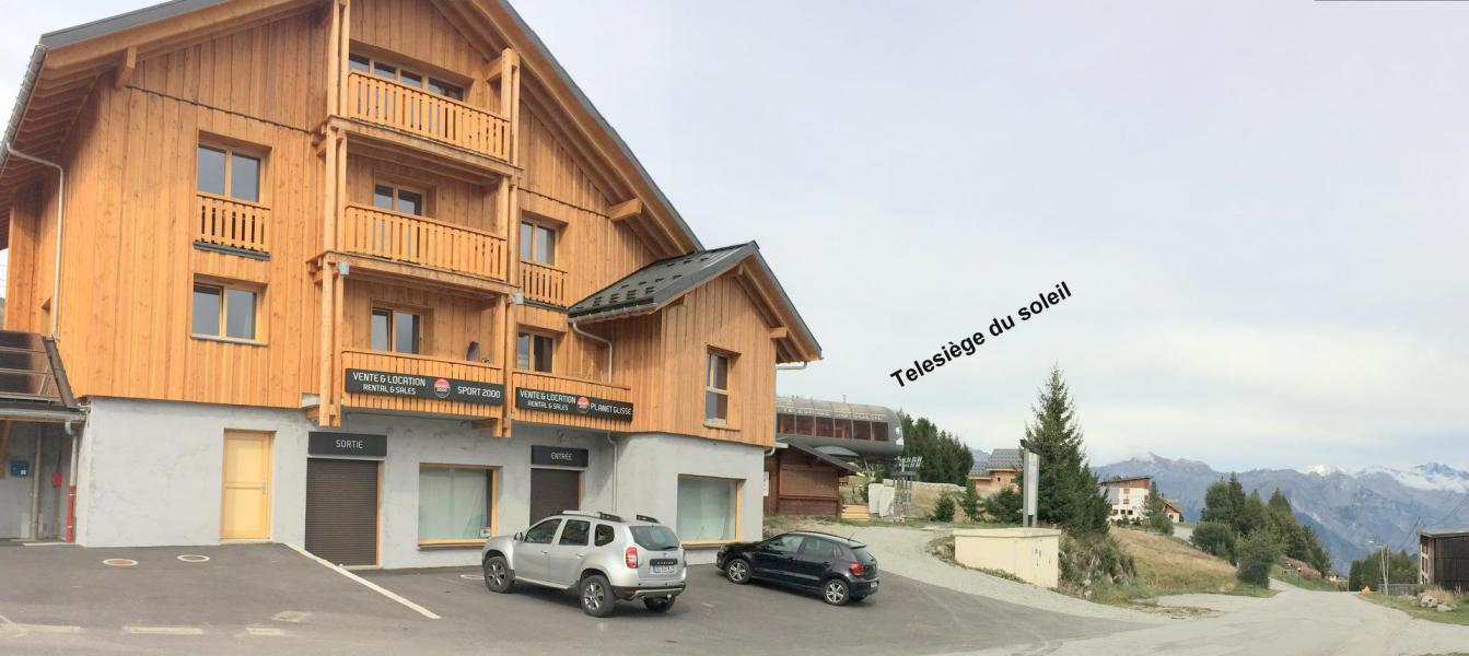 Location au ski Résidence le Lys - La Toussuire - Extérieur été