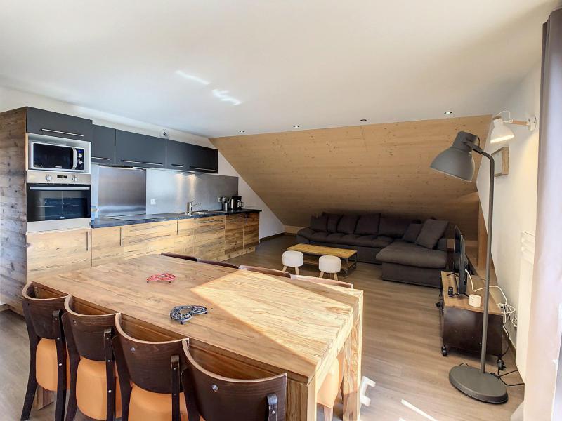 Wakacje w górach Apartament 3 pokojowy 6 osób (201) - Résidence le Lys - La Toussuire - Pokój gościnny