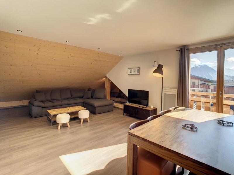 Wakacje w górach Apartament 3 pokojowy 6 osób (201) - Résidence le Lys - La Toussuire - Stołem
