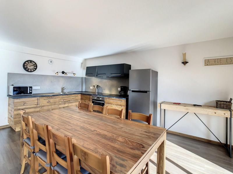 Wakacje w górach Apartament 3 pokojowy z alkową 8 osób (202) - Résidence le Lys - La Toussuire - Pokój gościnny