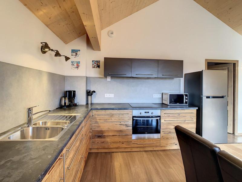 Wakacje w górach Apartament 4 pokojowy 10 osób (301) - Résidence le Lys - La Toussuire - Aneks kuchenny