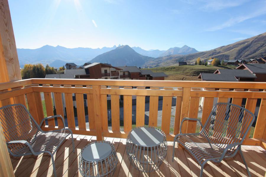 Wakacje w górach Apartament 4 pokojowy 10 osób (301) - Résidence le Lys - La Toussuire - Balkon