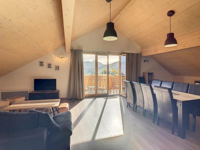 Wakacje w górach Apartament 4 pokojowy 10 osób (301) - Résidence le Lys - La Toussuire - Stołem