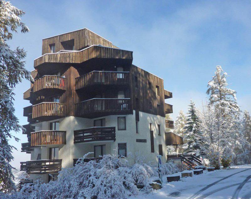 Holiday in mountain resort Studio sleeping corner 4 people (364) - Résidence le Méale - Les Orres