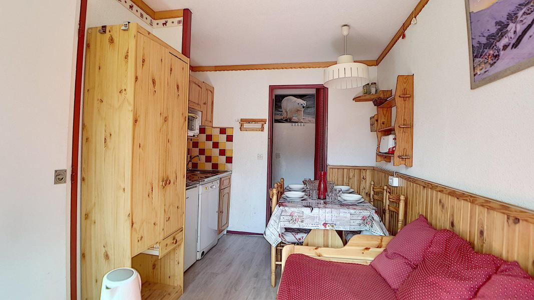 Holiday in mountain resort 2 room apartment 4 people (521) - Résidence le Median - Les Menuires