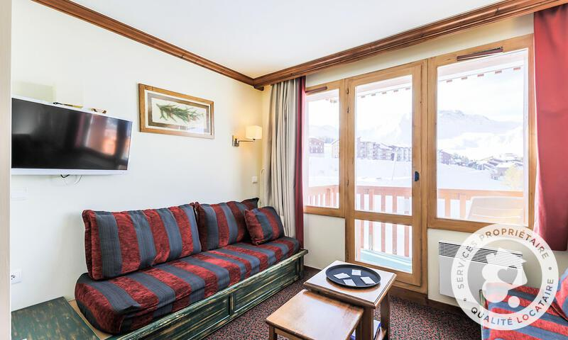 Location au ski Appartement 2 pièces 5 personnes (Confort -3) - Résidence le Mont Soleil - Maeva Home - La Plagne - Extérieur été