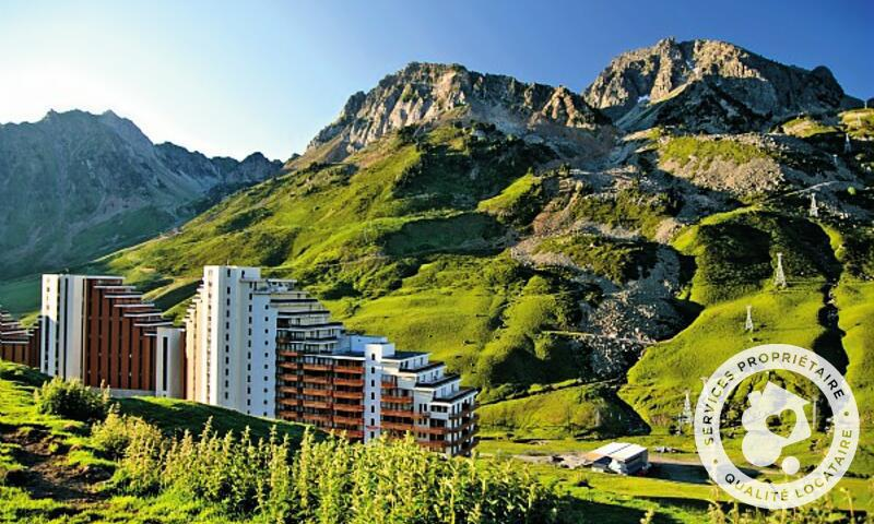 Аренда на лыжном курорте Апартаменты 2 комнат 6 чел. (Confort 36m²-7) - Résidence le Montana - Maeva Home - Barèges/La Mongie - летом под открытым небом