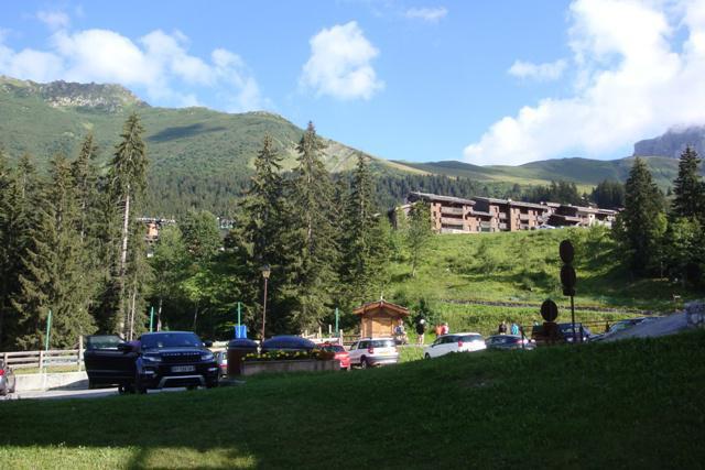 Ski verhuur Appartement 2 kamers 4 personen (029) - Résidence le Morel - Valmorel - Buiten zomer