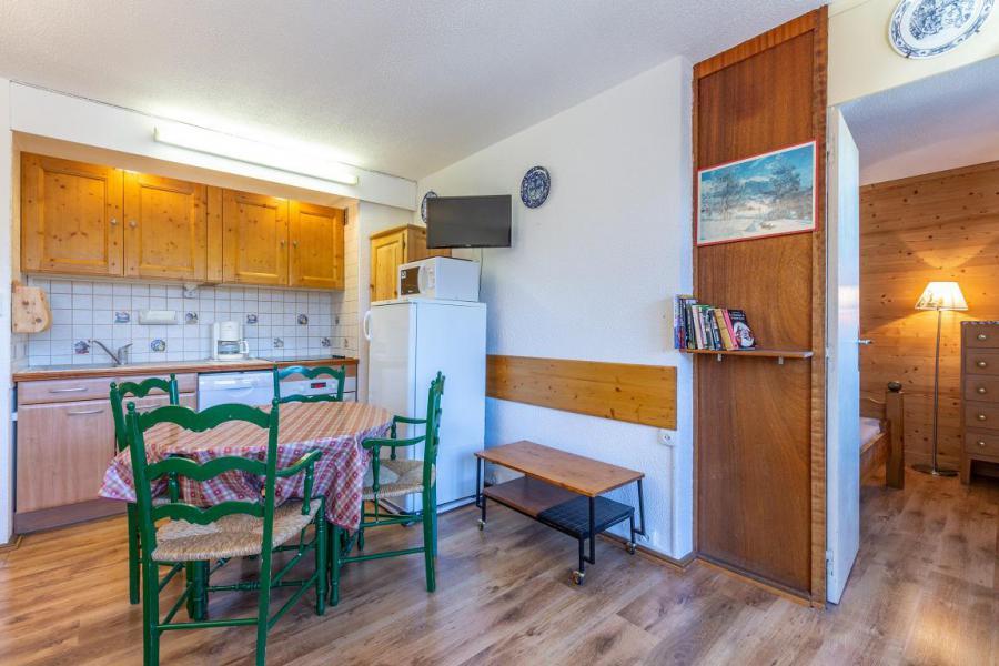Vacaciones en montaña Apartamento 2 piezas para 4 personas (21) - Résidence le Mustag - La Plagne - Mesa