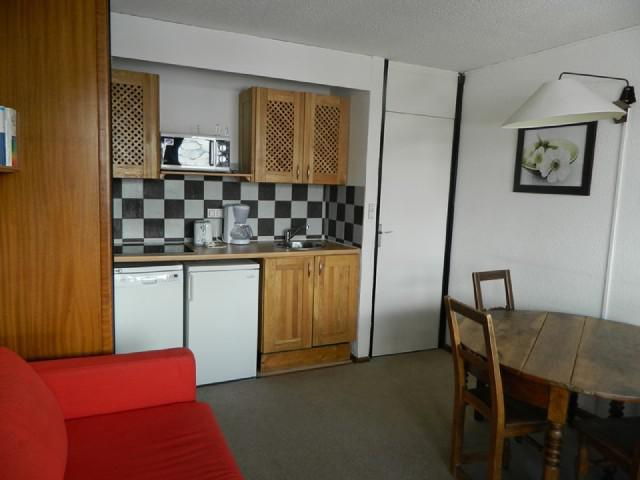 Vacaciones en montaña Apartamento 2 piezas para 5 personas (15) - Résidence le Mustag - La Plagne - Alojamiento