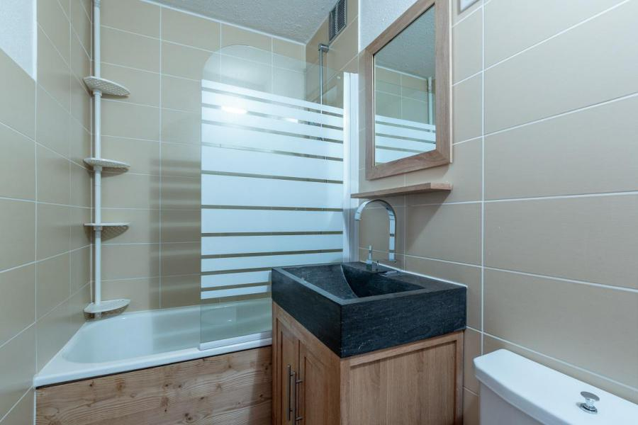 Vacances en montagne Appartement 2 pièces 4 personnes (21) - Résidence le Mustag - La Plagne - Baignoire