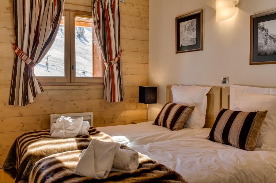 Urlaub in den Bergen Résidence le Napoléon - Montgenèvre - Schlafzimmer