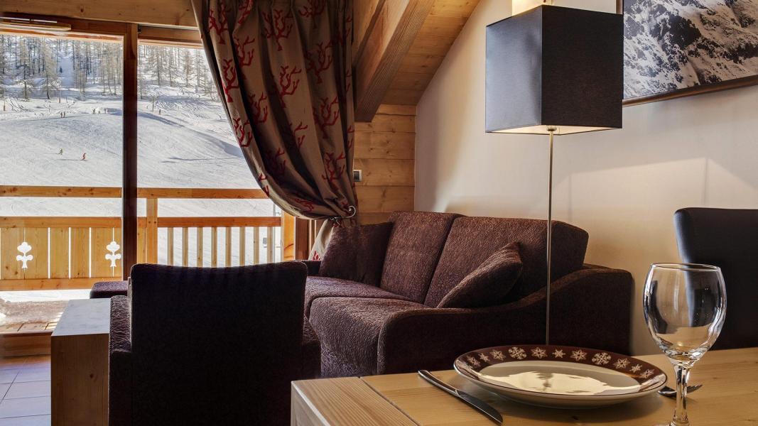 Urlaub in den Bergen Résidence le Napoléon - Montgenèvre - Sofa