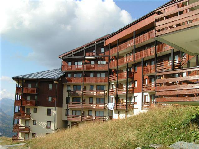 Vacanze in montagna Résidence le Nécou - Les Menuires - Esteriore estate