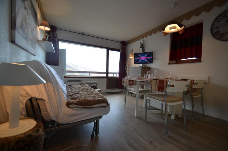 Vacances en montagne Appartement 2 pièces 4 personnes (305) - Résidence le Nécou - Les Menuires - Séjour
