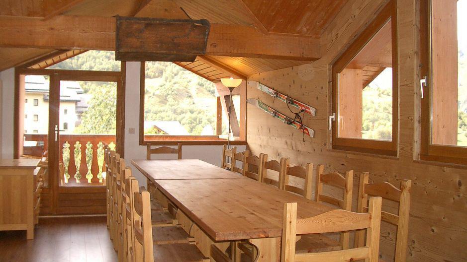 Urlaub in den Bergen Résidence le Neiger - Saint Martin de Belleville - Esszimmer