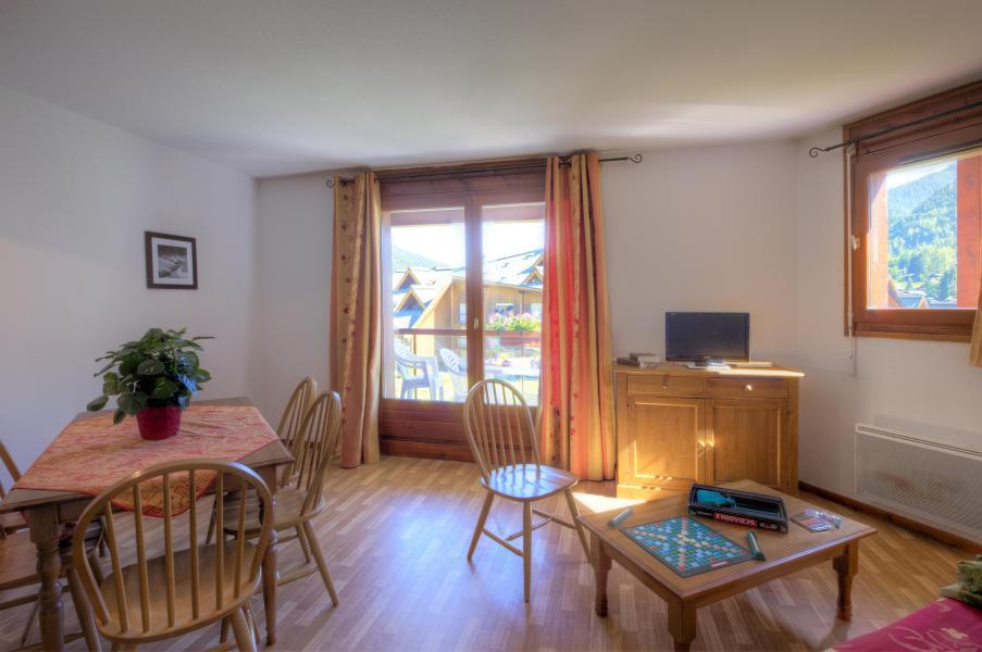 Urlaub in den Bergen Résidence le Névez - Les Contamines-Montjoie - Wohnzimmer
