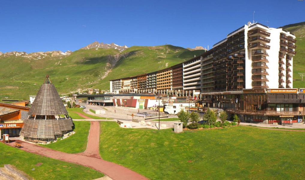 Vacances en montagne Résidence le Palafour - Tignes - Extérieur été