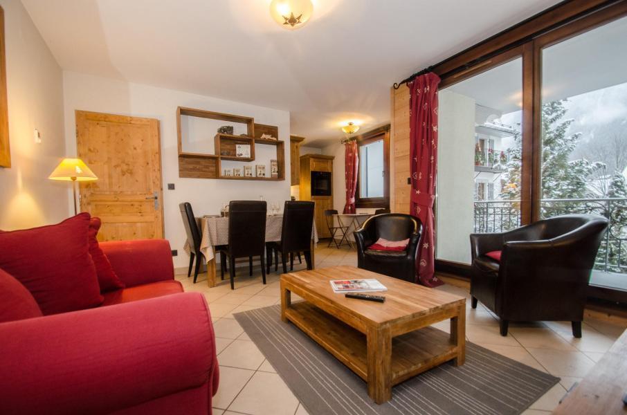 Vacances en montagne Appartement 3 pièces 6 personnes - Résidence le Paradis - Chamonix