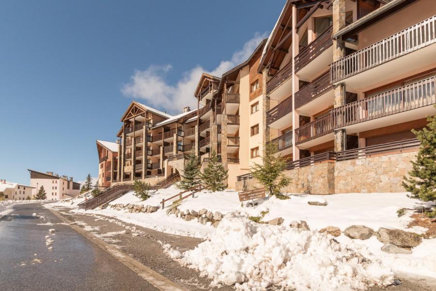 Location au ski Residence Le Paradis Latin - Montgenèvre - Extérieur été